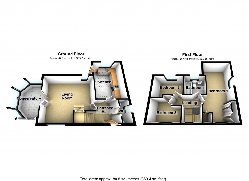 Floorplans For Bielby Drive, Beverley