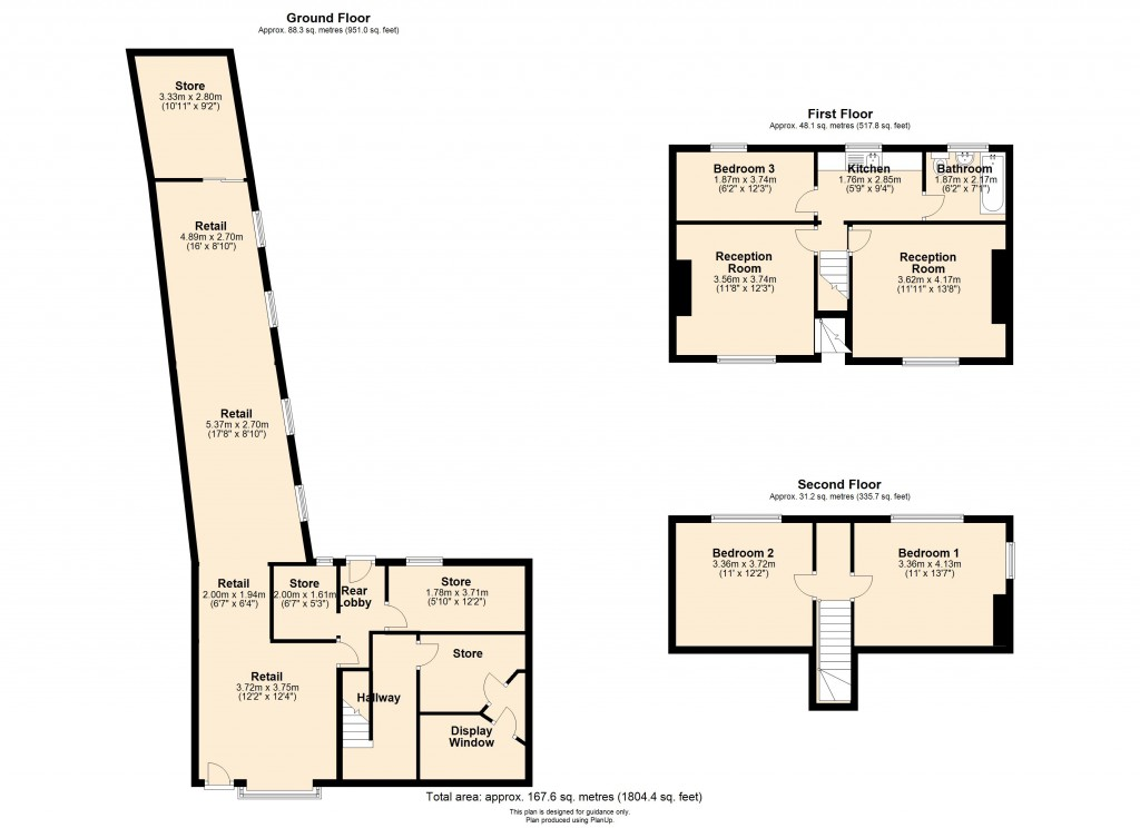 Floorplans For Pocklington, York
